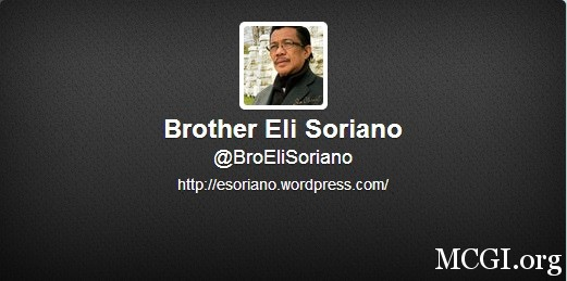 Bro. Eli Soriano's official twitter account