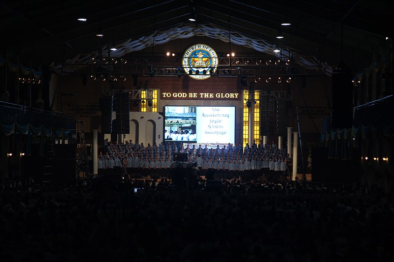 Breaking time barriers between the two hemispheres of the globe, MCGI sets Thanksgiving in the Philippines at night time, while members in the West attend in the morning.