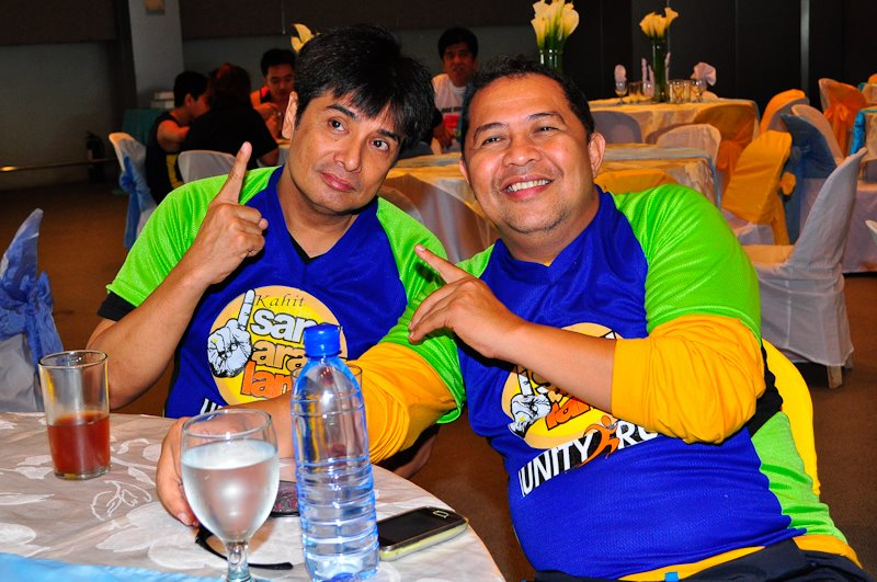 Kahit Isang Araw Lang Unity Run - Dinky Doo and William Martinez
