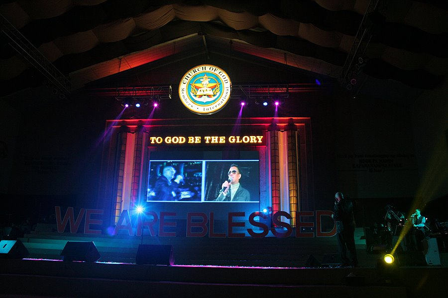 We Are Blessed concert with Cascades, Bro. Eli and Bro. Daniel