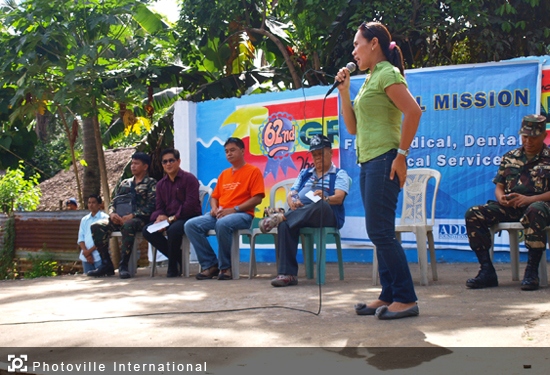Members Church of GOD International  - Medical Mission in Donsol