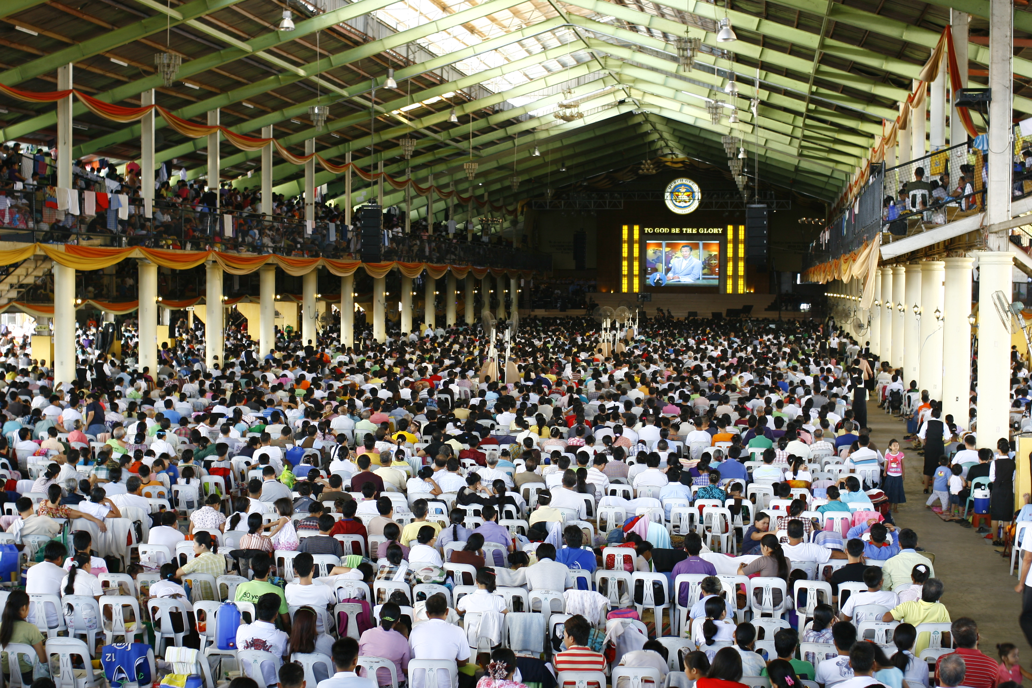 Members of the Church of God in Manila and nearby provinces flocked to the ADD Convention Center in Apalit, Pampanga for the three-day event.