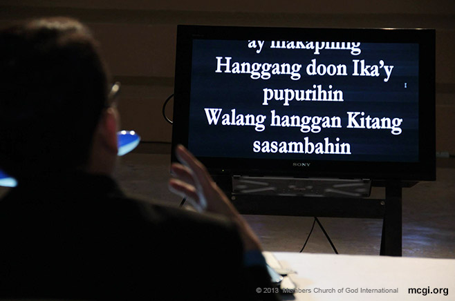 Walang Hanggang Kitang Sasambahin (Forever, I Will Worship You) was not only chosen as the Song of the Mid-Year 2013 in the recent ASOP Festival, but also one that Bro. Daniel Razon will record in the coming months.