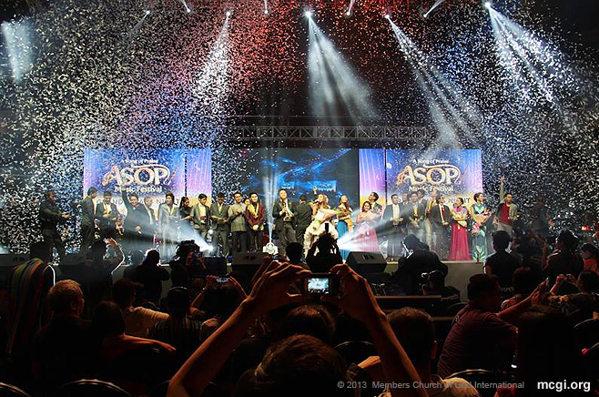 """Ikaw"" (You), the ASOP 2013 Grand Champion, was penned by Boy Christopher Ramos Jr. and interpreted by Jonalyn Viray."