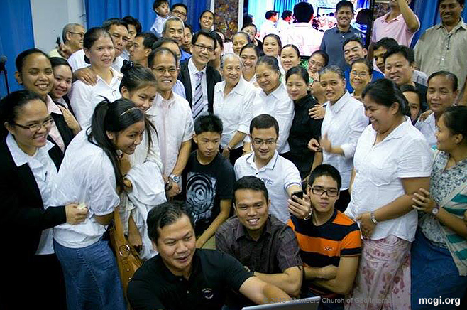 Bro. Daniel Razon, Vice Presiding Minister to MCGI, on his visit to the Locale of New York.