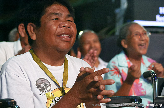 MCGI dedicates a concert for the elderly and persons with disability as part of the 33rd anniversary of The Old Path on October 29, 2013.