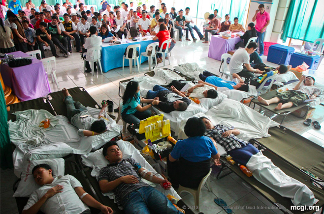 Nationwide Blood Drive of MCGI, Recognized by PHL Department of Health