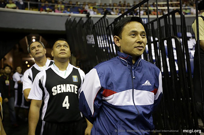 Senator Sonny Angara graced the event as the Team Captain of the Senate Defenders, one of the two newly added teams this season.