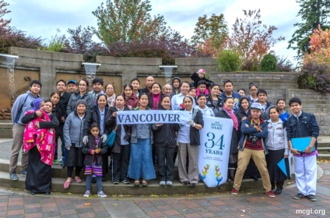 Brethren from Vancouver, Canada, pose for a photo after conducting a clean-up drive in Holland Park, Vancouver. (Photo courtesy of PVI)