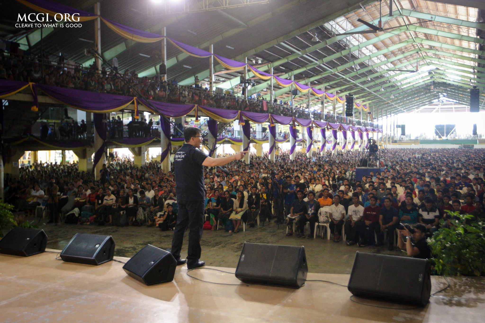 MCGI Youth Gather for 15th IYC, Urged to be 'Zealous for Good Works'