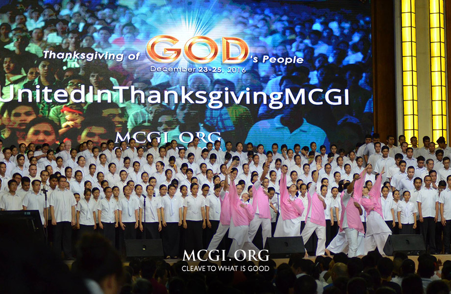 MCGI Concludes 4th Quarter Thanksgiving of God's People of 2016 in Awe: A Revelation Like No Other