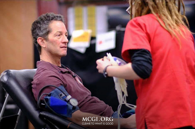 MCGI Aids Red Cross in Urging American Donors to Give Blood