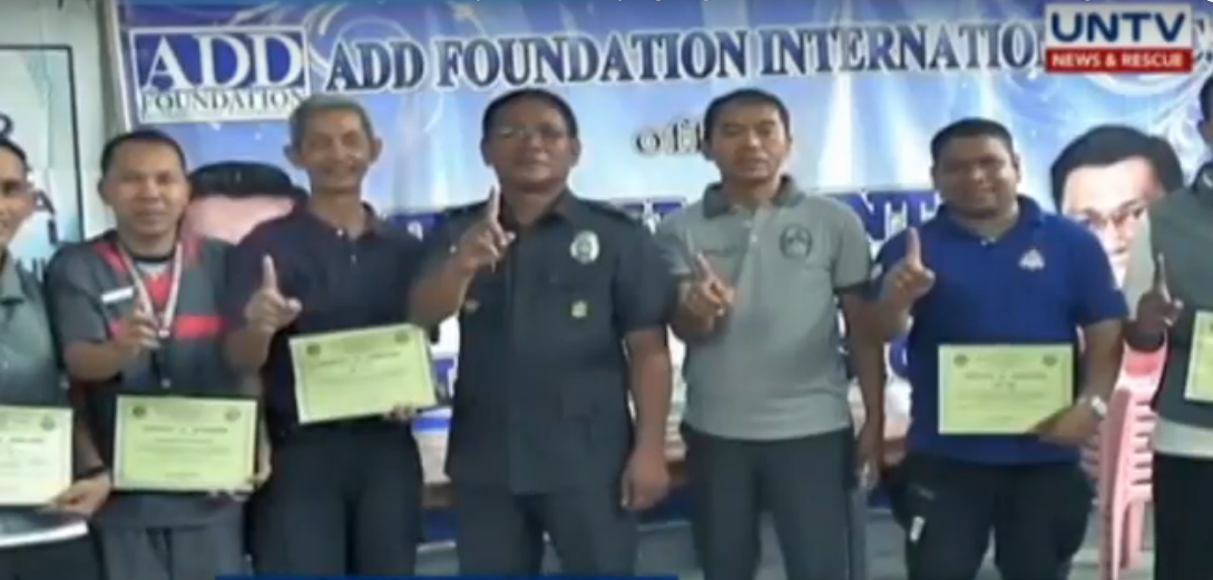 MCGI-UNTV Medical Mission serve over 300 inmates in San Mateo Municipal jail