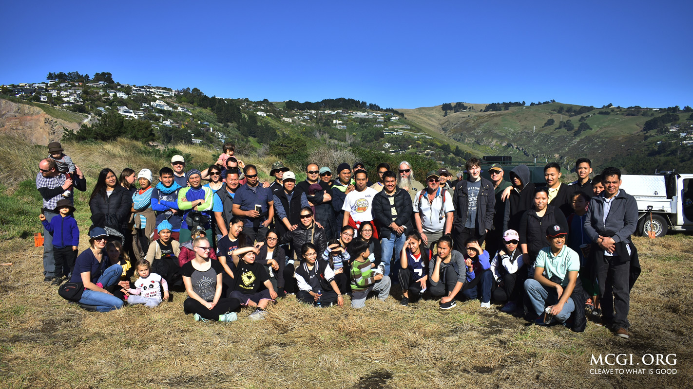 MCGI Volunteers Participate in Community Planting Activity in Christchurch, New Zealand