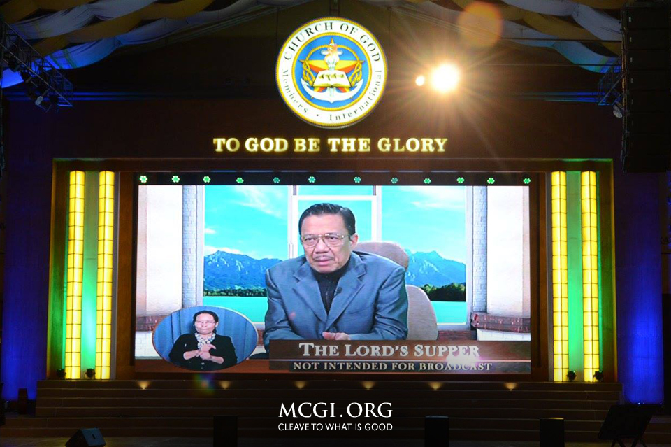 New Wisdom Unravels on MCGI's Lord's Supper This March