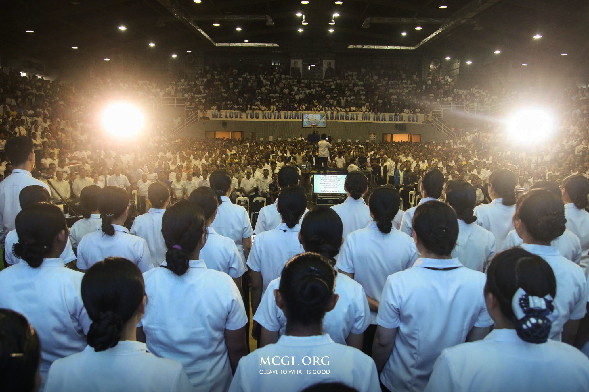 For God's Protection and Countless Blessings, MCGI's Bicol Division Offer Mid-Year Thanksgiving