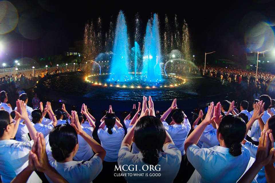 "With a Park Stroll, MCGI's ""Walk of Faith"" Reminds About Trusting God's Power"