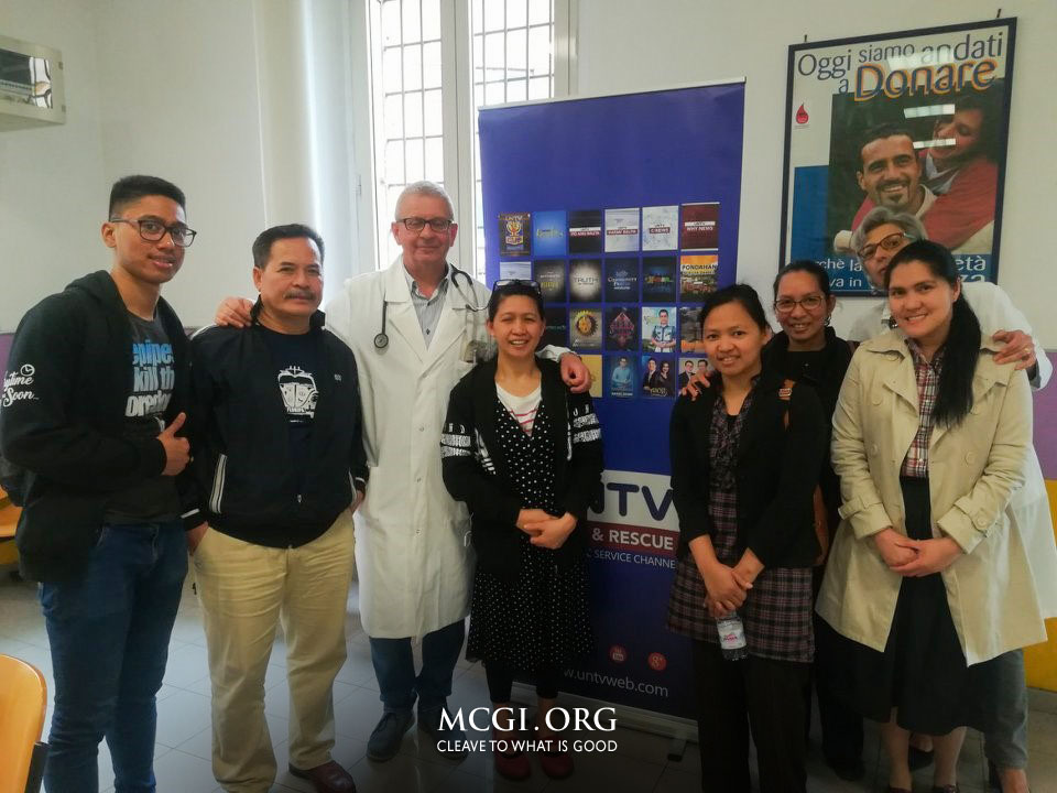 MCGI Hosts Mass Blood Drive in Roma, Italy