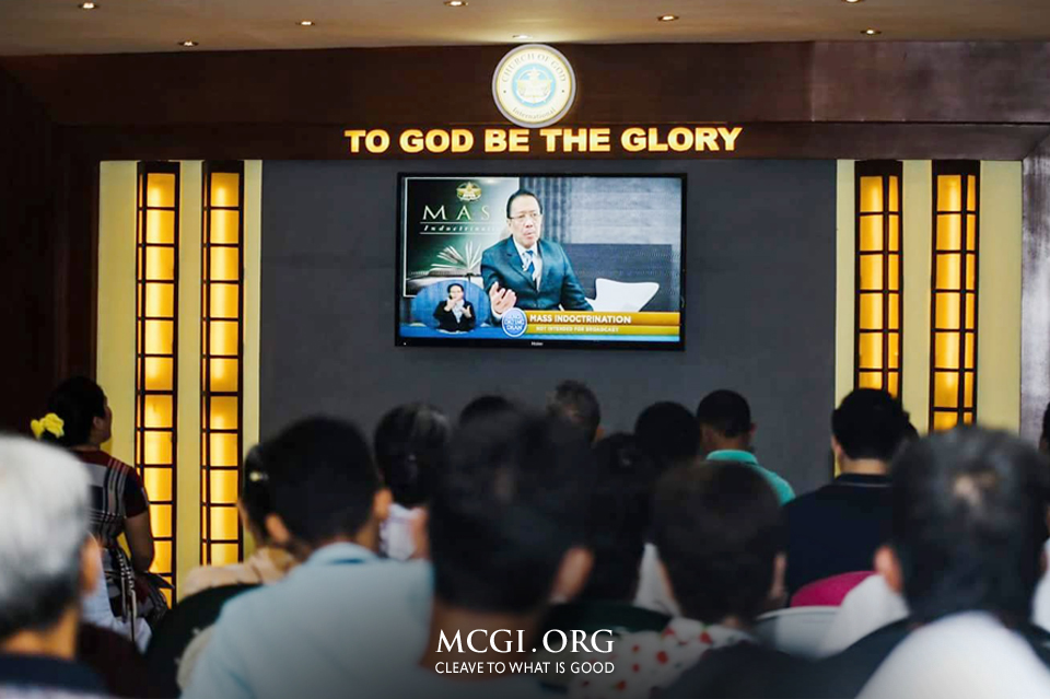 MCGI Welcomes More Than 3,200 After Live Mass Indoctrination Sessions