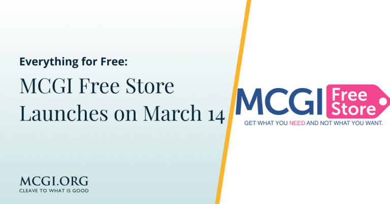 Everything for Free - MCGI Free Store Launches on March 14