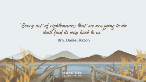 Every Act Of Righteousness