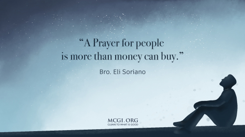 A prayer for people